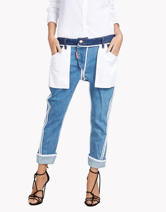 Dsquared2 Inside Out Icon Jeans, 5 Pockets Women - Dsquared2 Online Store