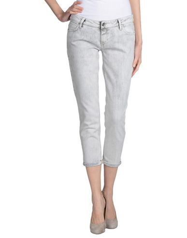 Джинсовые брюки-капри MET 42479239DW