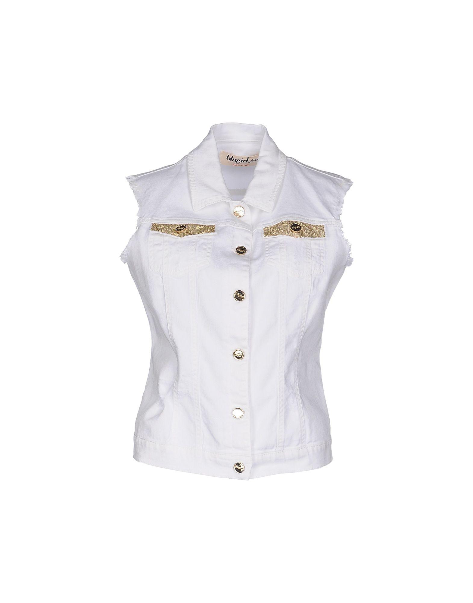 BLUGIRL JEANS Denim outerwear