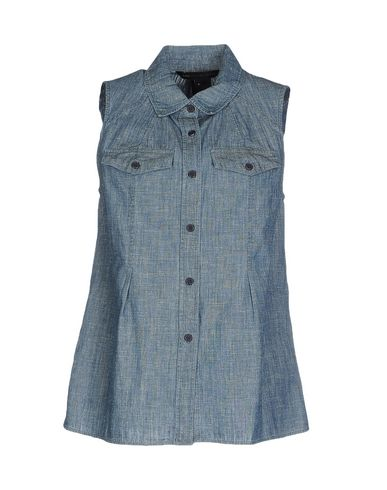 Джинсовая рубашка MARC BY MARC JACOBS 42489445JI