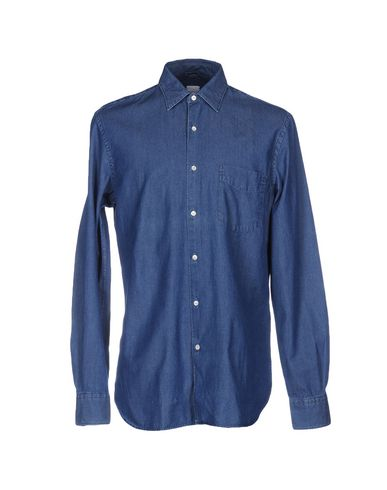 Джинсовая рубашка ASPESI 42490350PF
