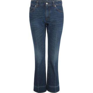ALEXANDER MCQUEEN, Jeans, Crop Flare Jeans