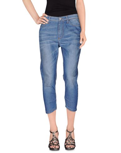 Джинсовые брюки-капри LIVIANA CONTI 42494431MJ