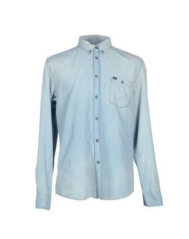 TIGER OF SWEDEN Джинсовая рубашка батарейка gp ultra 24au cr4 aaа lr03 4 шт в блистере gp24au cr4