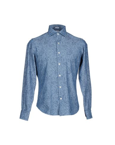 Foto JOHN MARLOW Camicia jeans uomo Camicie jeans