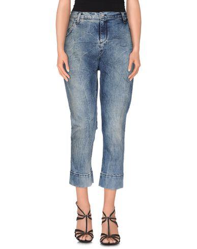 Джинсовые брюки-капри MET 42497068BM