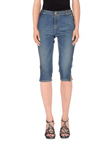 Джинсовые брюки-капри TRUSSARDI JEANS 42497298CV