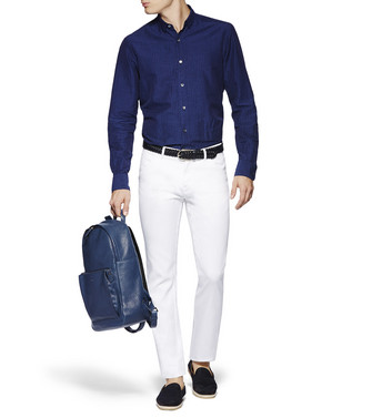 ERMENEGILDO ZEGNA: Slim Fit White - 42497440FD