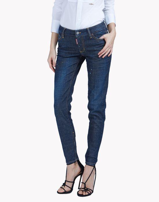 medium waist skinny jean denim Woman Dsquared2