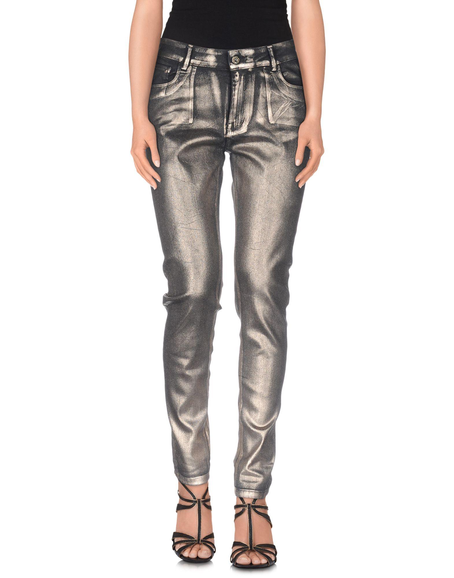 ATOS LOMBARDINI Damen Jeanshose Farbe Bronze Größe 2