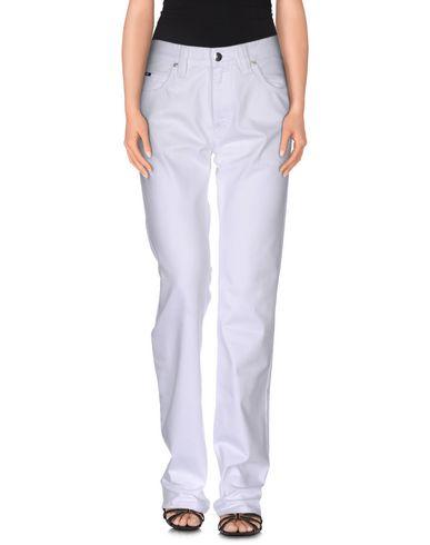 Джинсовые брюки ARMANI COLLEZIONI 42499544LO