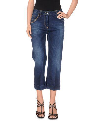Джинсовые брюки-капри ELISABETTA FRANCHI JEANS 42499886SL
