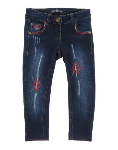 Джинсовые брюки MISS BLUMARINE JEANS 42500032PQ
