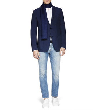 ERMENEGILDO ZEGNA: Regular Fit Azul marino - 42501138LP