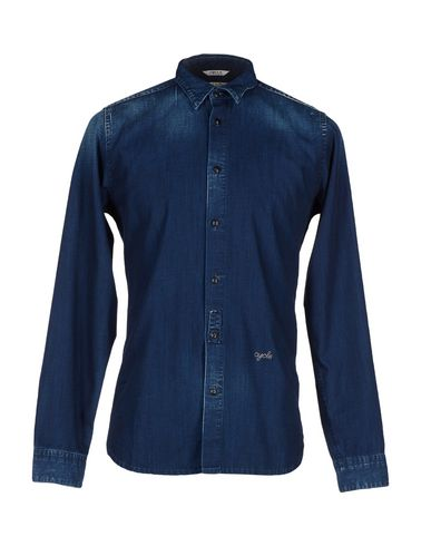 Foto CYCLE Camicia jeans uomo Camicie jeans