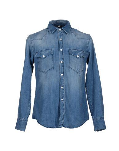 Джинсовая рубашка (+) PEOPLE 42502448SG