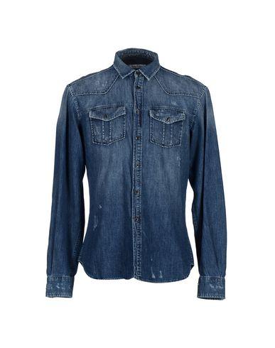 Джинсовая рубашка PIERRE BALMAIN 42503311LG