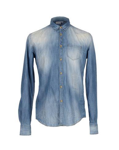 Foto AGLINI Camicia jeans uomo Camicie jeans