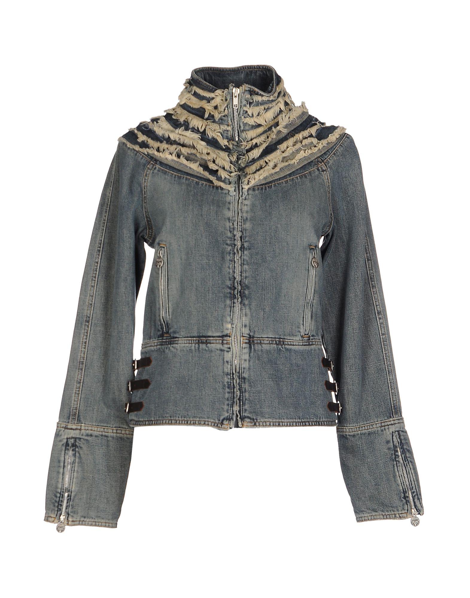 MOSCHINO JEANS Denim outerwear