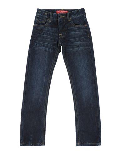Джинсовые брюки DANIELE ALESSANDRINI 42505484HO