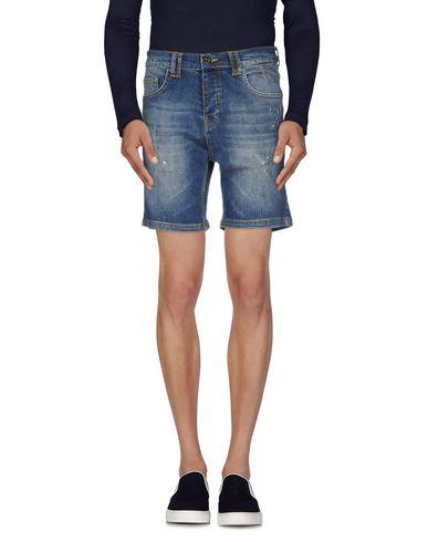 Foto LES ÉCLAIRES Bermuda jeans uomo