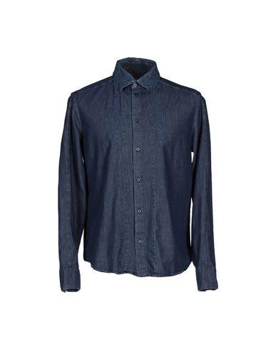 Джинсовая рубашка ERMANNO ERMANNO SCERVINO 42506900CB