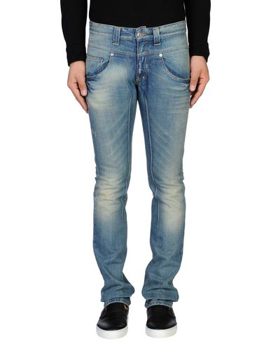 Джинсовые брюки DANIELE ALESSANDRINI HOMME 42508554VC