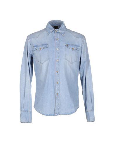 Джинсовая рубашка (+) PEOPLE 42510111SS