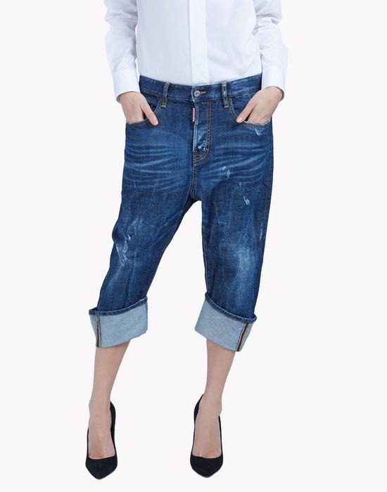 kawaii jeans denim Woman Dsquared2