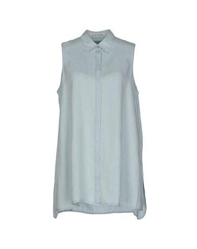 Джинсовая рубашка ACNE STUDIOS 42511528HX