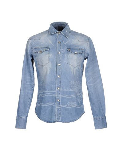 Джинсовая рубашка (+) PEOPLE 42512525LO