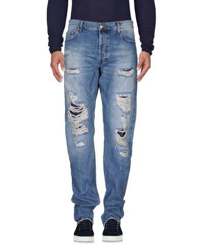 Джинсовые брюки ALEXANDER MCQUEEN 42514521EU