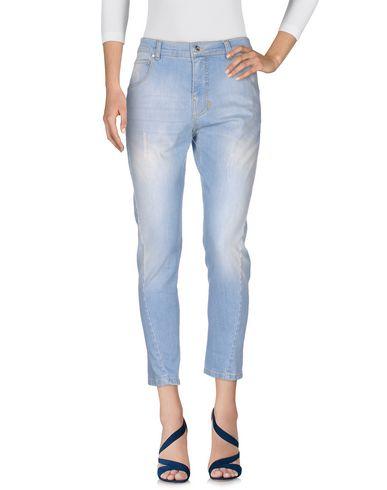 Джинсовые брюки PINKO GREY 42518910WL