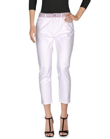 Джинсовые брюки-капри ISABEL MARANT ETOILE 42520683XK