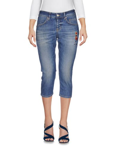 Джинсовые брюки-капри SIVIGLIA 42521082QG