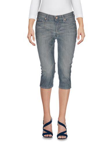 Джинсовые брюки-капри 7 FOR ALL MANKIND 42524090CT