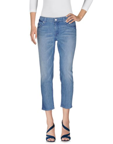 Джинсовые брюки-капри 7 FOR ALL MANKIND 42524592OO