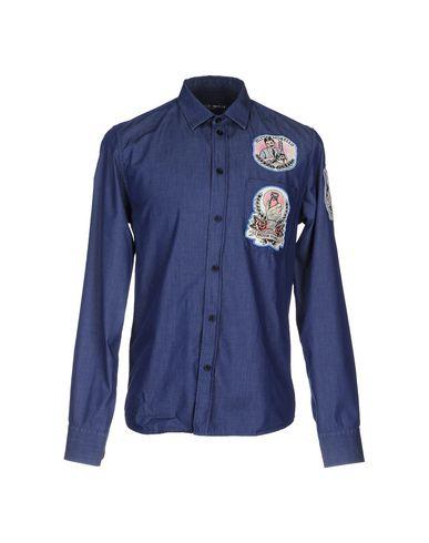 Джинсовая рубашка FRANKIE MORELLO 42525735KT