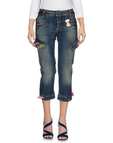 Джинсовые брюки-капри MOSCHINO JEANS 42526061WP