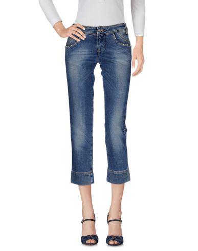 Джинсовые брюки-капри GALLIANO 42527221EV