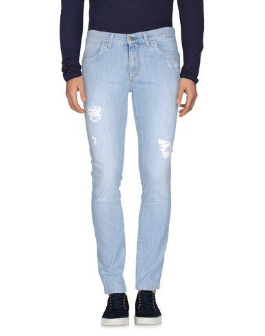 Джинсовые брюки BIKKEMBERGS 42527363CX