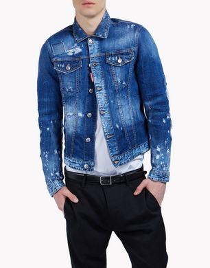DSQUARED2 Denim outerwear U S71AM0808S30342470 f