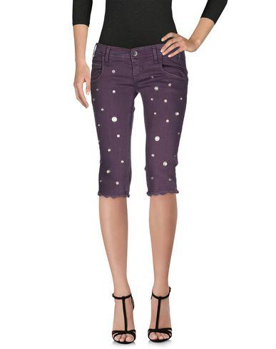 Джинсовые брюки-капри MET 42530805SX
