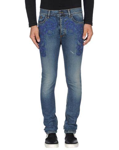 Джинсовые брюки ROBERTO CAVALLI 42530927KA