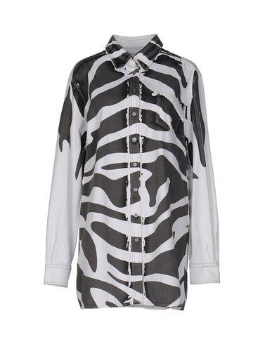 Джинсовая рубашка PIERRE BALMAIN 42531897DG