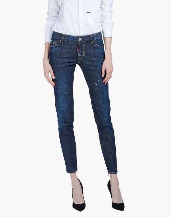medium waist skinny jeans denim Woman Dsquared2