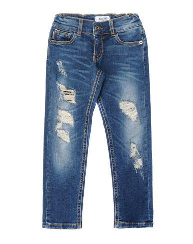 Джинсовые брюки MOSCHINO KID 42533121MG