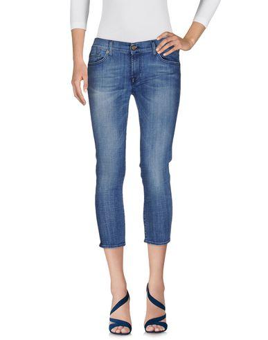 Джинсовые брюки-капри 7 FOR ALL MANKIND 42533194DE