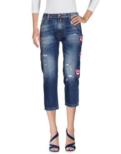 Джинсовые брюки-капри FRANKIE MORELLO 42533409XF