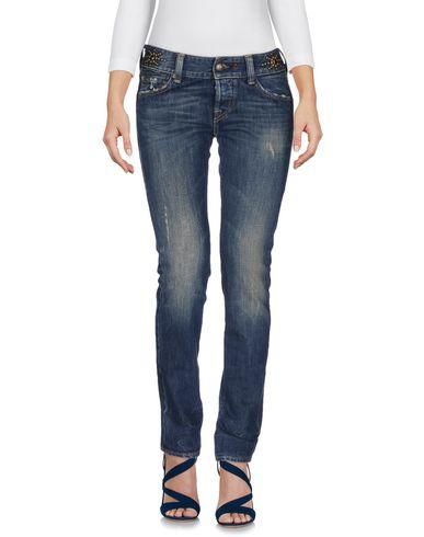 Джинсовые брюки-капри HTC 42534888QD